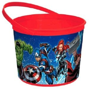 Marvel Epic Avengers Plastic Bucket Container